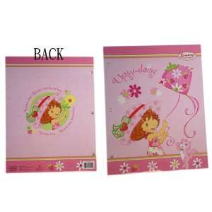 Folder Set   Strawberry Shortcake Folder (3 Folders) Toys & Games