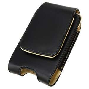 Vertical Leather Case For Apple iPhone Cell Phones & Accessories
