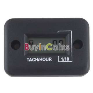 Waterproof Tach Hour Meter For Motorcycle ATV Snowmobile Boat Stroke