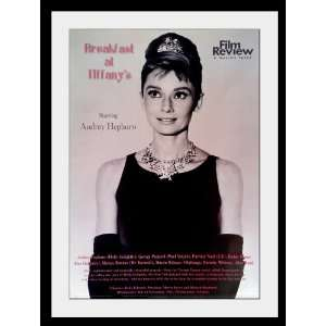 Audrey Hepburn Breakfast at Tiffanys poster . review approx 34 x 24
