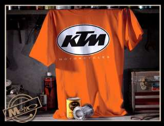 Metro Racing KTM Vintage Motorcycle Mens T Shirt