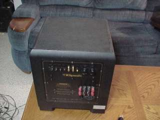 KLIPSCH KSW 100 POWERED SUBWOOFER, WORKS PERFECT.