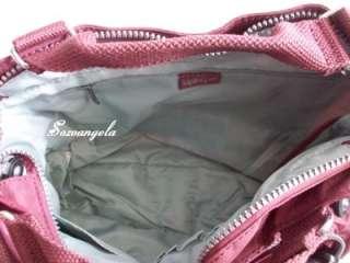 KIPLING ADOMMA Handbag Shoulder Crossbody Bag Toasty Fuschia