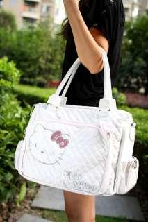 Hello Kitty White leatherette handbag shoulder bag tote