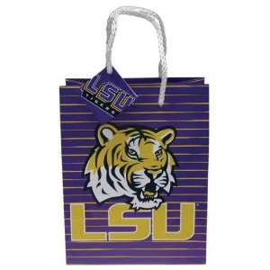 LSU TIGERS OFFICIAL SMALL GIFT BAG: Sports & Outdoors