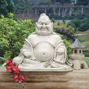 18 Laughing Asian Buddha Mediation Home Garden Statue Sculpture
