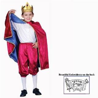 King Red Child Toddler Baby Infant Royalty Costume Deluxe Royal King