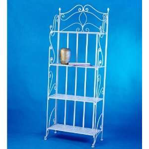 Antique White Bookshelf Mothers Day Gift Idea for Her