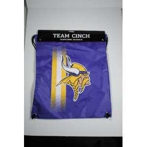 Minnesota Vikings NFL Team Cinch Drawstring Backpack