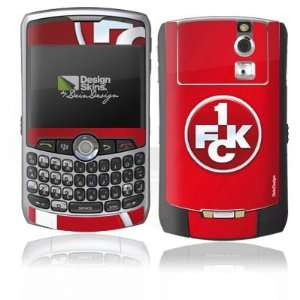 Design Skins for Blackberry 8330 Curve   1. FCK Logo Design