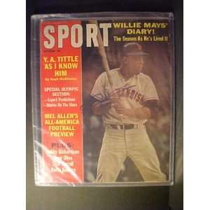 Willie Mays San Francisco Giants Autographed October 1964