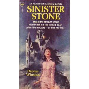 Sinister Stone (A Paperback Library Gothic Romance): Books