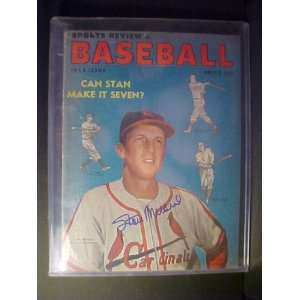 Stan Musial St. Louis Cardinals Autographed 1953 Sports