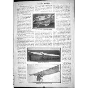 1904 Rope Horse Skull Formation Nemethy Flying Machine
