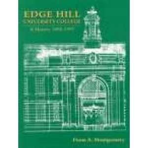 Edge Hill University College (9781860770425) Fiona