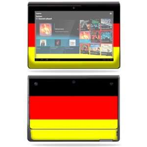 Vinyl Skin Decal Cover for Sony Tablet S German Flag Electronics
