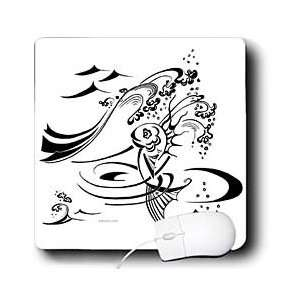 Milas Art Aquatic   Fairy Tail Fish   Mouse Pads