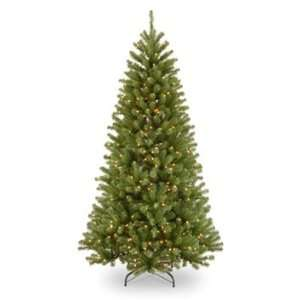 Pine Hinged Christmas Tree; 400 Clear Lights UL