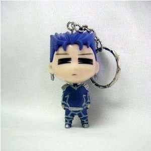 Fate/Stay Night Lancer Super Chibi Big Keychain Toys & Games