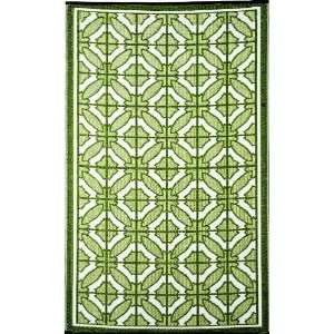 Outdoor Designer Mat Made of Recycled Plastic Patio, Lawn & Garden