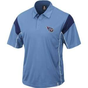 Reebok Victory Light Blue Polo Shirt  Sports & Outdoors
