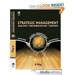 STRATEGIC MANAGEMENT (Analysis ? Implementation ? Control) [Kindle