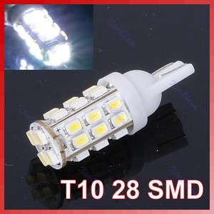 Bright T10 1206 28 SMD LED Car Taillight Reading Light Lamp Blub White