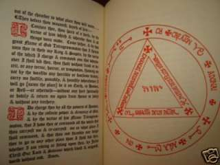 OCCULT GRIMOIRE DE NIGROMANCIA ROGER BACON MAGIC CIRCLE SPIRIT