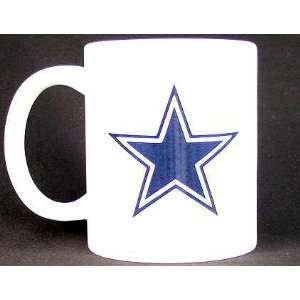 Dallas Cowboys 12 Oz. Ceramic Coffee Mug Sports & Outdoors