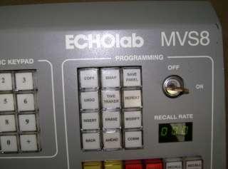 EchoLab Production broadcast video Switcher Model MVS8