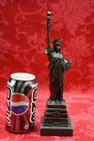 Art Deco Bronze Sculpture Statue Figure New York Liberty