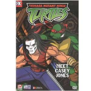 Teenage Mutant Ninja Turtles   Meet Casey Jones [DVD] Toys & Games