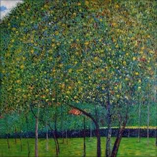 High Q. Hand Painted Oil Painting Repro Gustav Klimt Pear Tree, 1903