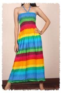 NEW Gypsy Hippie Boho retro MAXI Sun Dress Petites XS/S