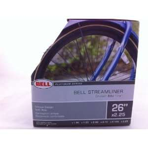 Bell Streamliner Cruiser Bike Tire 26 Platinum Series