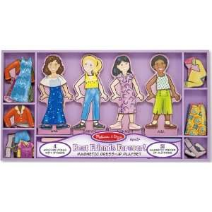 Doug 3549 Best Friends Forever Magnetic Dress Up Playset Toys & Games
