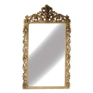 Estelle Large Rococo Ornate Carved Wood Hall Salon Mirror