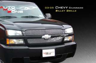 03 05 Chevy Silverado 1500 2500 Avalanche Billet Grille