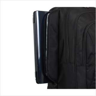 World Laptop Rolling Business Case in Black MSR 12 BLACK
