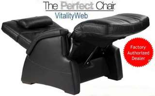 BLACK LEATHER ELECTRIC ZERO ANTI GRAVITY PERFECT CHAIR