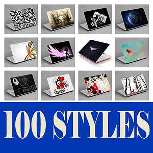 NETBOOK LAPTOP NOTEBOOK SKIN STICKER COVER DECAL ART HP TOSHIBA ACER