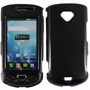 CARBON FIBER DESIGN HARD SNAP ON CASE COVER FOR SAMSUNG GEM I100