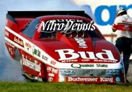BERNSTEIN 116 Milestone NITRO Funny Car BATMOBILE Drag Racing