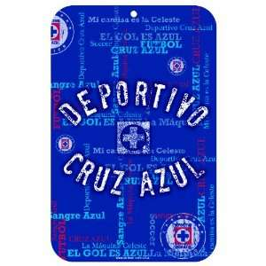 MLS Club Deportivo Cruz Azul 11 by 17 Inch Locker Room