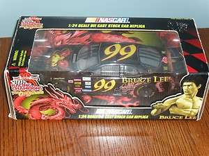 NASCAR Die Cast Stock Car BRUCE LEE #99 in box