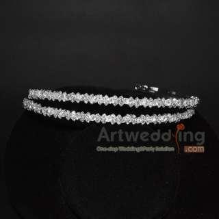 Crystal Wedding Bridal Headband Tiara Hairpin Hair Accessories