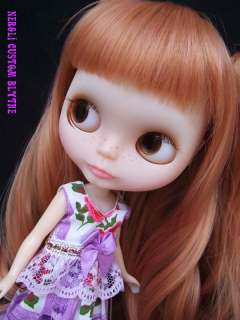 nerolis OOAK custom Blythe art doll Go easy by RUIRUI
