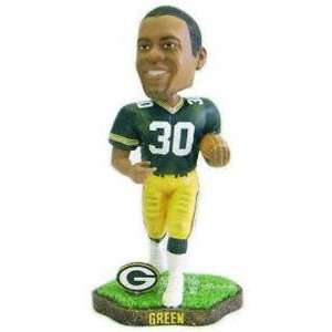 Ahman Green Game Worn Forever Collectibles Bobblehead