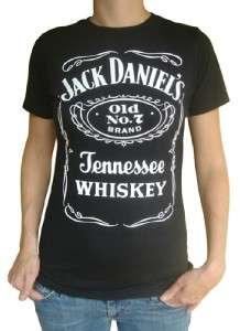 jack daniels misses bella t shirt s xl rock whiskey rad