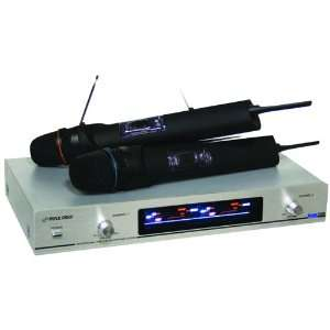 Pyle Pro PDWM2300N   Dual VHF Wireless Microphone System